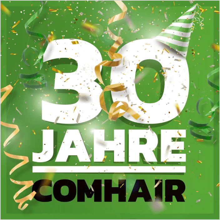 30 Jahre COMHAIR