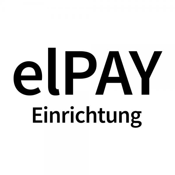 Einrichtung von elPAY 1